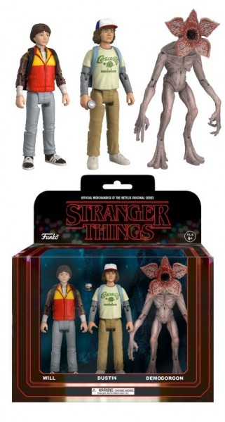 Funko TV - Stranger Things: Will, Dustin, Demogorgon 3-Pack
