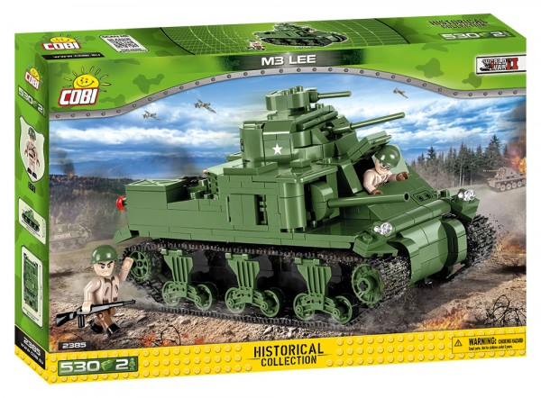 Cobi - 530 Teile SMALL ARMY 2385 M3 LEE