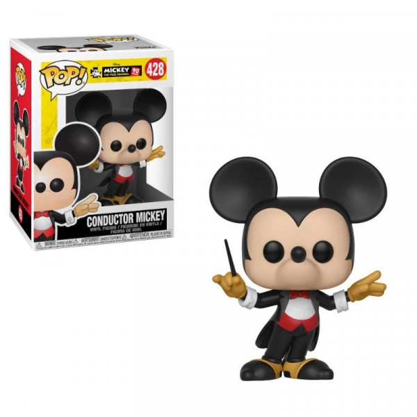 Funko POP! Disney - Mickey's 90th: Conductor Mickey