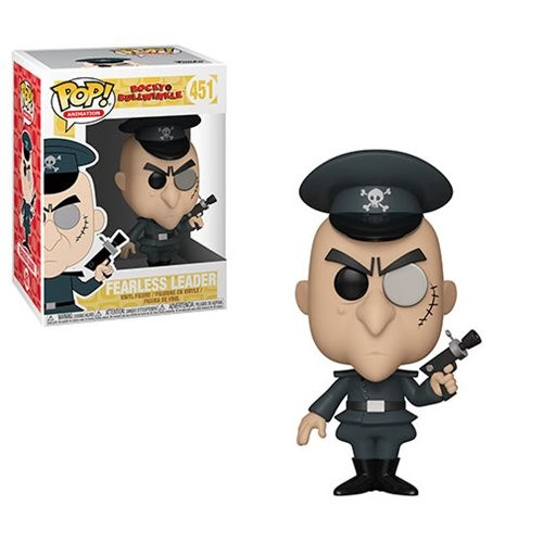 Funko Pop Animation Rocky And Bullwinkle Fearless Leader