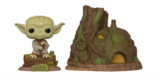 Funko POP! Star Wars - The Empire Strikes Back 40th Anniversary: Yoda's Hut