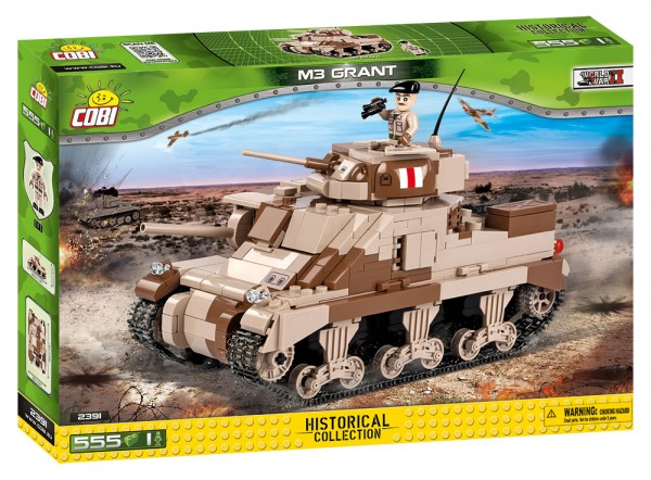 Cobi - 555 Teile SMALL ARMY 2391 M3 GRANT
