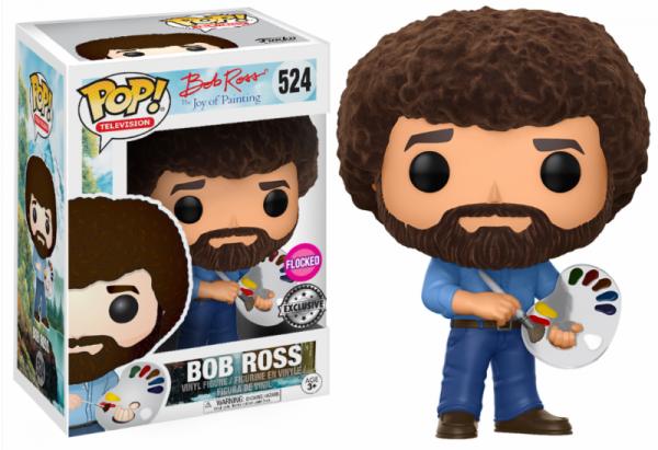 Funko POP! TV - Bob Ross Flocked