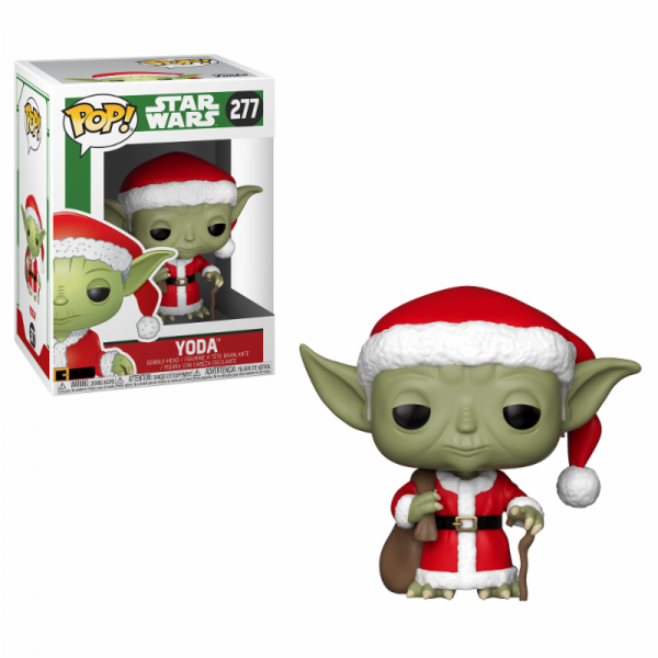 Funko POP! Star Wars: Santa Yoda