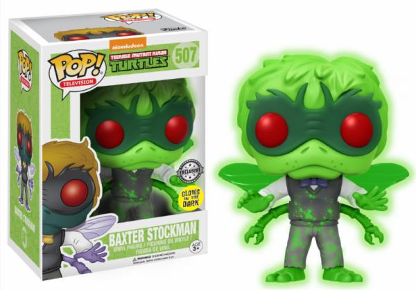 Funko POP! Animation - Teenage Mutant Ninja Turtles: Baxter Stockman GITD
