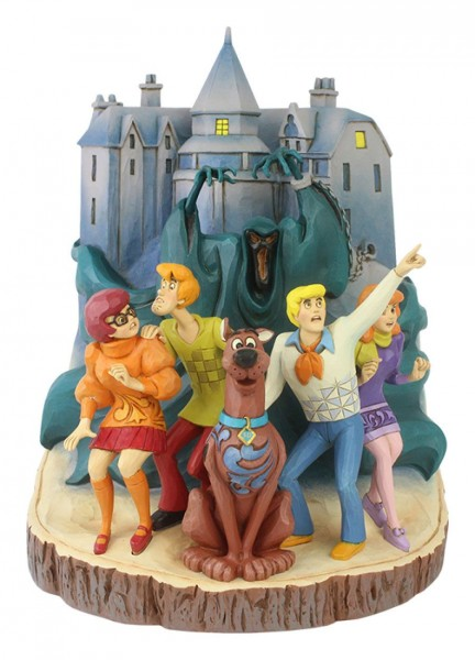 Enesco - Scooby Doo Carved by Heart Statue 23 cm