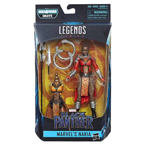 Hasbro - Black Panther Marvel Legends: Nakia