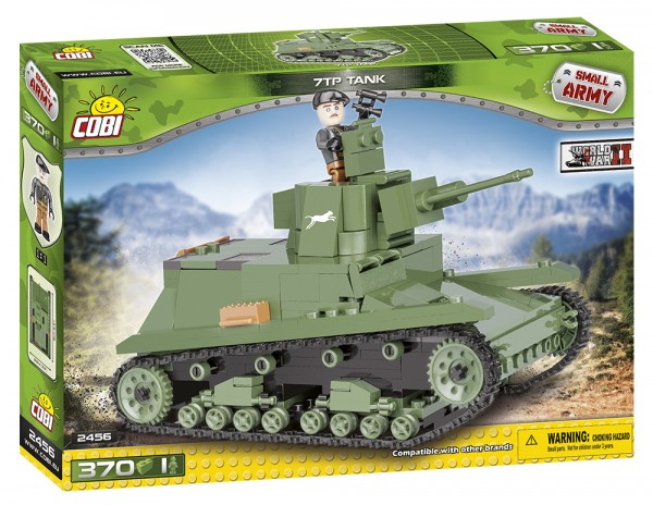 Cobi - 370 Teile SMALL ARMY 2456 LIGHT TANK 7 TP