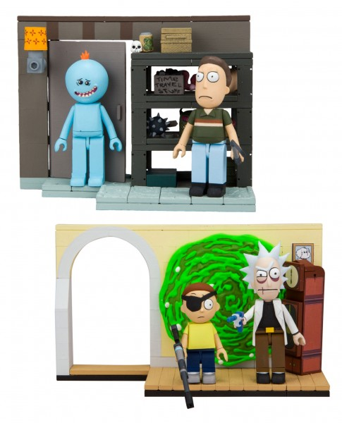 McFarlane - Rick und Morty Kleines Bauset Bundle