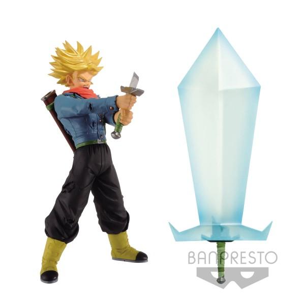 Banpresto - Dragonball Super Super Saiyan 2 Trunks Figur & Blade of Hope (24cm)