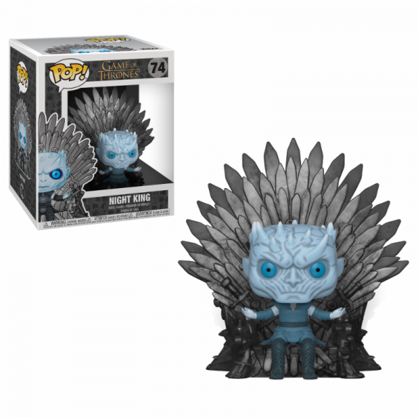Funko POP! Game of Thrones: Night King on Iron Throne