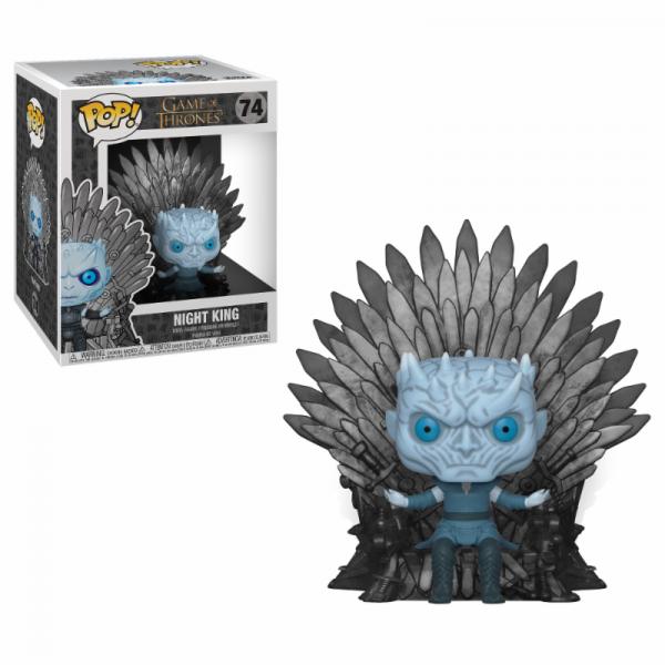Funko POP! Game of Thrones: Night King on Iron Throne