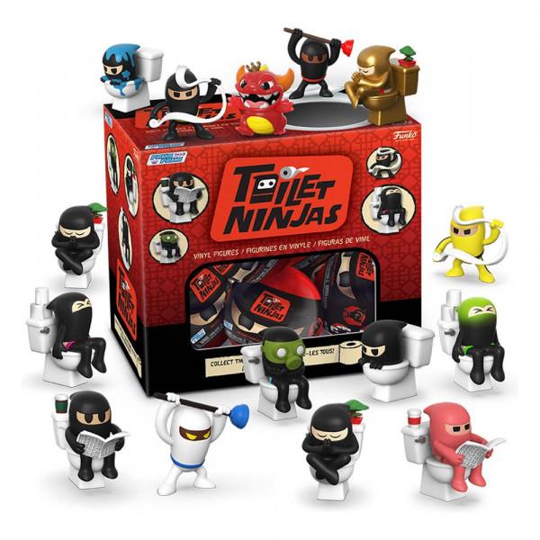 Funko Paka Paka - Toilet Ninja Minifiguren Display (18 Figuren)