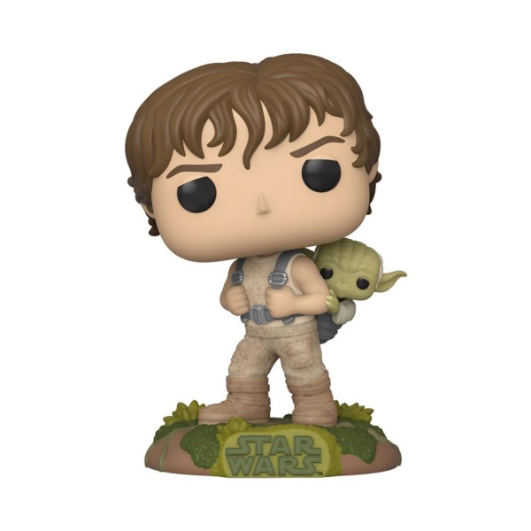 Funko POP! Star Wars: Training Luke with Yoda