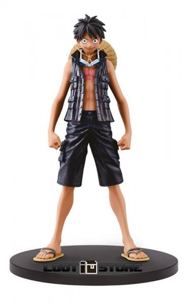 Banpresto - One Piece DXF Grandline Men: Luffy (15 cm)