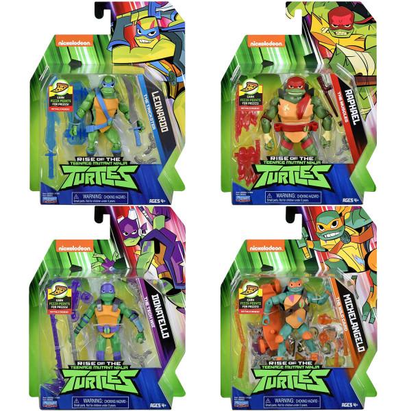 Playmates - Rise of the Teenage Mutant Ninja Turtles: Wave 1 (Figur auswählen)