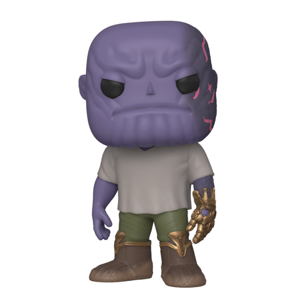 Funko POP! Marvel - Avengers Endgame: Casual Thanos w/Gauntlet