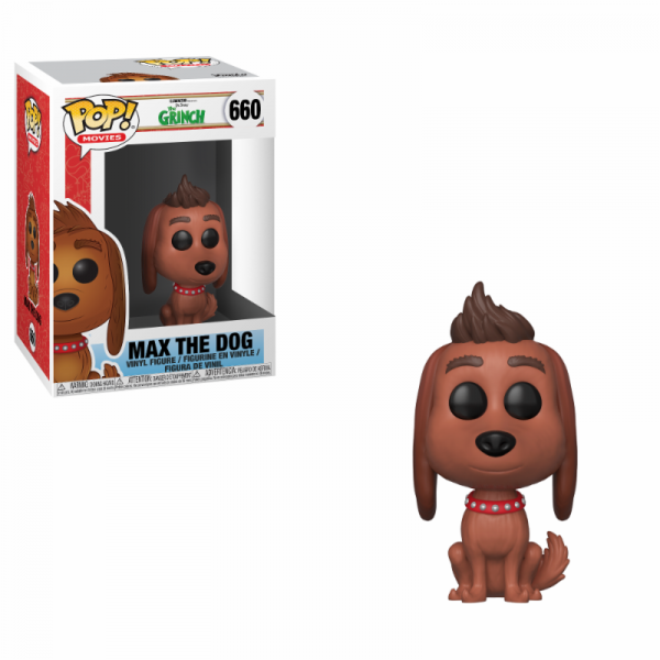 Funko POP! Movies - The Grinch: Max the Dog