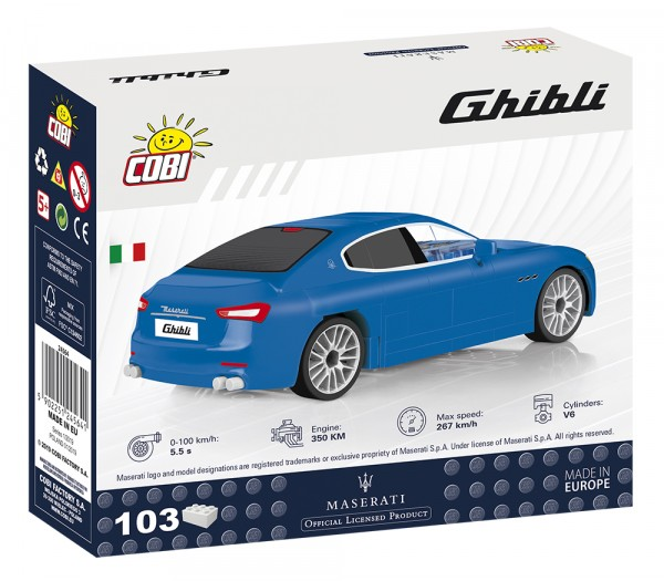 Cobi - 103 Teile CARS 24564 MASERATI GHIBLI