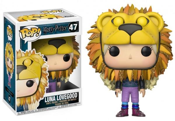 Funko POP! Movies - Harry Potter: Luna With Lion's Head