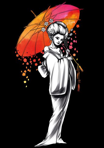 Lootgear - Sakura Worlds: Geisha T-Shirt