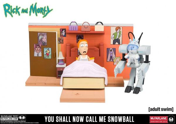 McFarlane - Rick and Morty Small Bauset: Call Me Snowball (ca. 109 Teile)