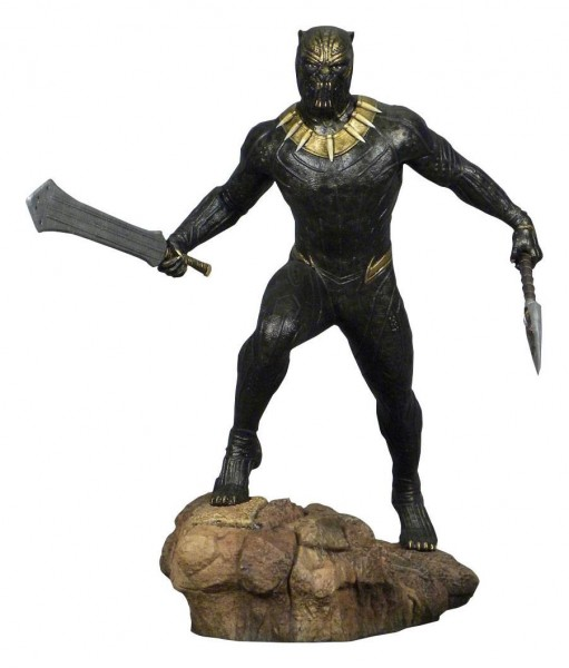 Diamond Select - Black Panther Movie Marvel Gallery PVC Statue Killmonger (23cm)