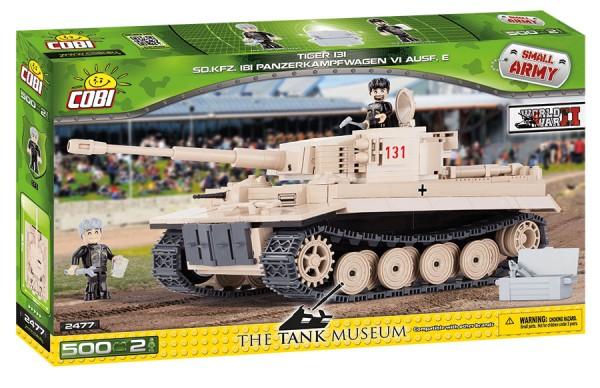 Cobi - 500 Teile SMALL ARMY 2477 PZKPFW VI TIGER NO 131