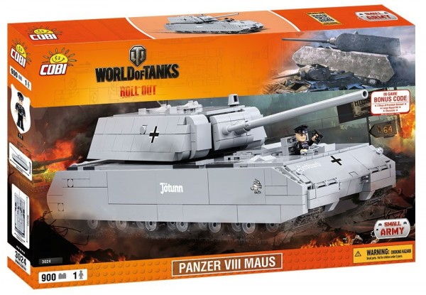 Cobi - World of Tanks: Sonder-KFZ 205 Maus (38cm x 14cm x 12cm)