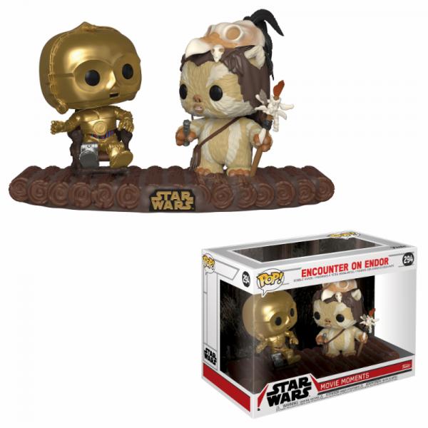 Funko POP! Star Wars - Movie Moment: C-3PO on Throne