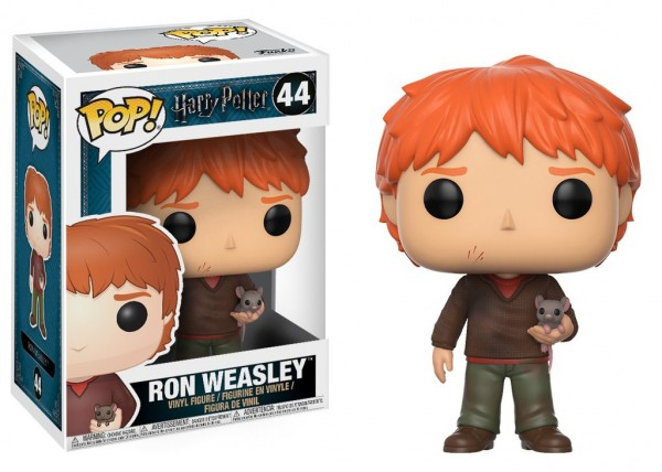 Funko POP! Movies - Harry Potter: Ron With Scabbers
