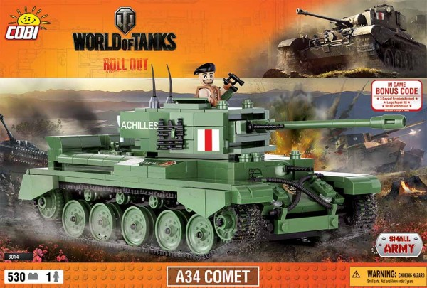 Cobi - 530 Teile SMALL ARMY 3014 WOT A34 COMET