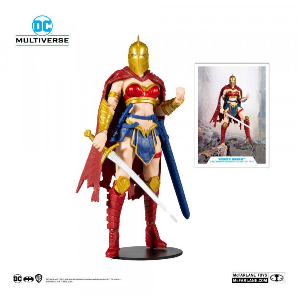McFarlane - DC Multiverse Actionfigur: LKOE Wonder Woman with Helmet of Fate
