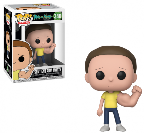 Funko POP! Animation - Rick & Morty: Sentinent Arm Morty (Chase möglich!)