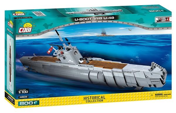 Cobi - U-Boot VIIB U-48 (50cm x 7cm x 30cm)