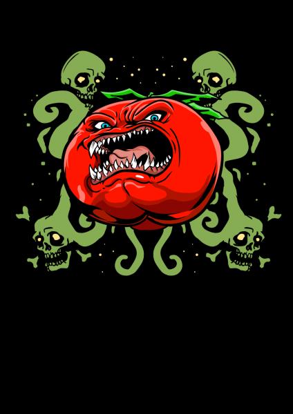 Lootgear - Cruel Worlds: Killer Tomato T-Shirt