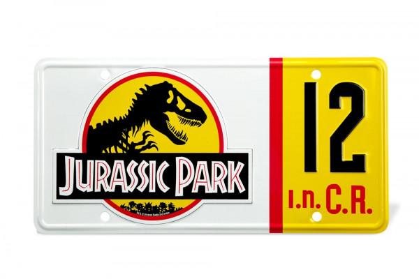 Doctor Collector - Jurassic Park: Dennis Nedrys Nummernschild