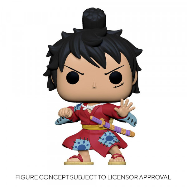 Funko POP! Animation - One Piece: Luffy in Kimono