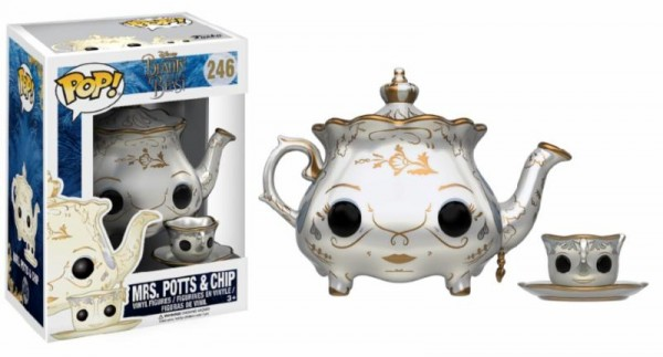 Funko POP! Disney - Beauty And The Beast: Mrs. Potts & Chip