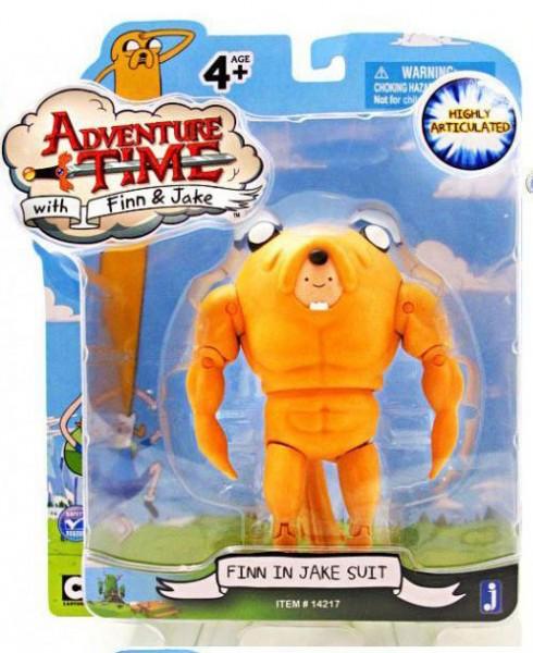 Jazwares - Adventure Time: Finn in Jake Suit (12 cm)