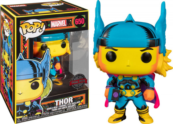 Funko POP! Marvel - Marvel Black Light: Thor