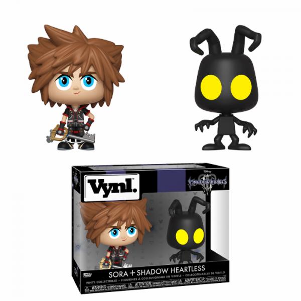 Funko Vynl - Kingdom Hearts 3: Sora & Heartless