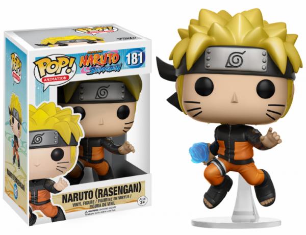 Funko POP! Animation - Naruto Shipuuden - Naruto Rasengan