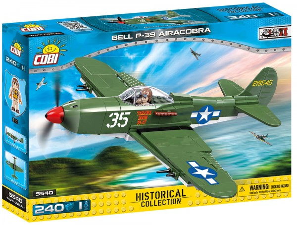 Cobi - 240 Teile SMALL ARMY 5540 BELL P-39 AIRACOBRA