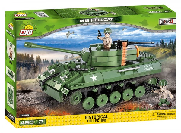 Cobi - 460 Teile SMALL ARMY 2389 M18 HELLCAT