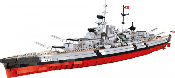 Cobi - 1974 Teile SMALL ARMY 3081 WOWS BISMARCK