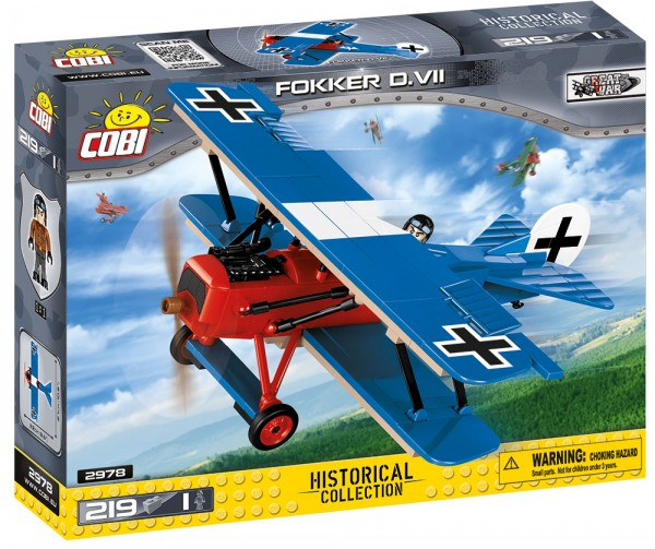 Cobi - 219 Teile SMALL ARMY 2978 FOKKER D.VII