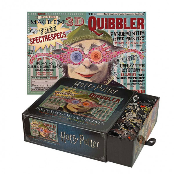 Noble Collection - Harry Potter: The Quibbler Magazine Cover Puzzle 1000 Teile