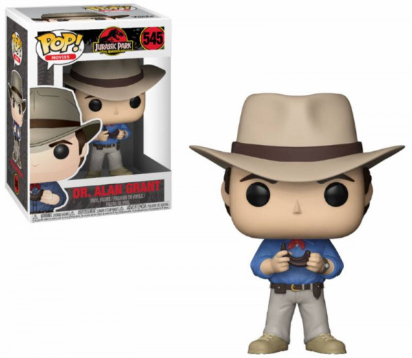 Funko POP! Movies - Jurassic Park: Dr. Alan Grant