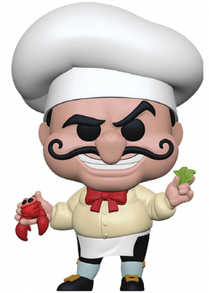 Funko POP! Disney - The little Mermaid: Chef Louis
